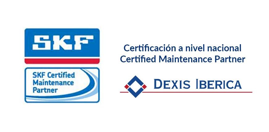 Certificación Maintenance Partner SKF